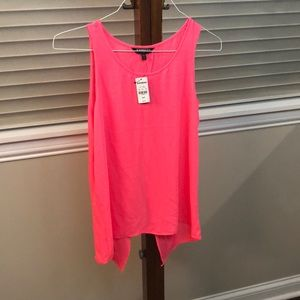 Express hot pink tank top